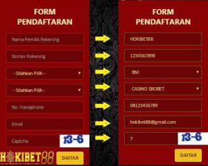 CARA DAFTAR SBOBET di HOKIBET88 AGEN SBOBET INDONESIA